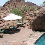 Damaraland. Hotel Mowani. Photo: Pedro Sagüés