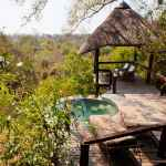 Private pool at Londolozi. Photo: Pedro Sagüés